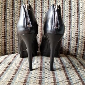 Nine West Shoes - Nine West Haywire Ankle Booties closed toe leather